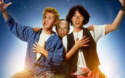 Bill & Ted's Excellent Adventure (1989) – OUT NOW ON 4K UHD, BLURAY & DVD!